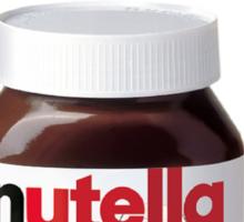 My Jar of Dirt/Nutella Sticker