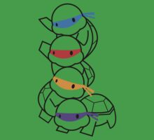 Infant Mutant Ninja Turtles by Aaron Thadathil
