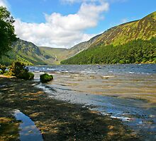 Upper Lake at Glendalough by Martina Fagan