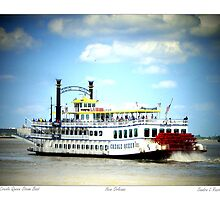 Creole Queen Steam Boat  by Sandra Russell