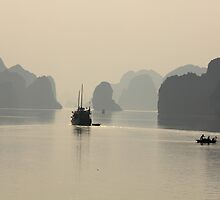 Halong Bay by Louise Bontoft