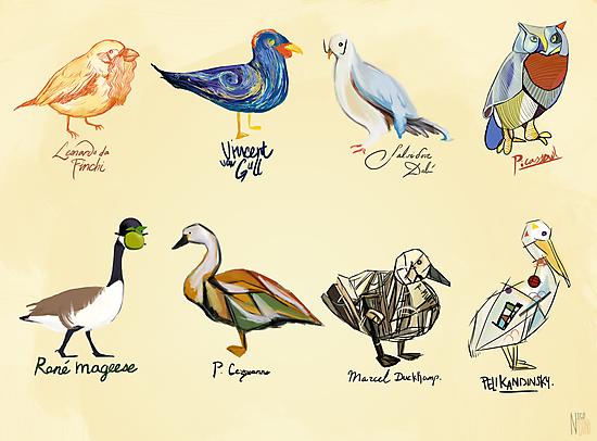 Art Fowl by sweetlynumb