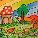 A Rainbow Place by Monica Engeler