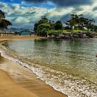 Balmoral Beach - Sydney Harbour by Ian English