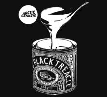 Black Treacle Single - White Design by daisyneal