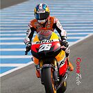 Dani Pedrosa in Jerez 2012 by corsefoto