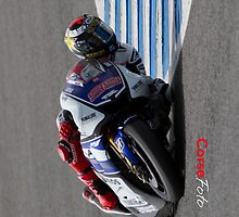 Jorge Lorenzo in Jerez 2012 by corsefoto