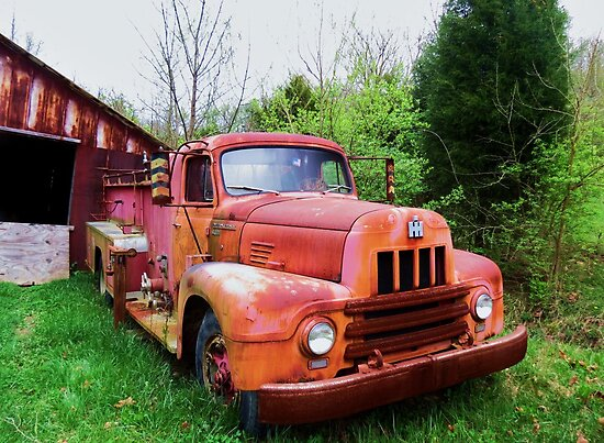 Old No.2 Silver Grove, Ky. by Ron Russell