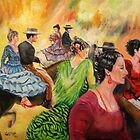 Jerez Horse Festival by Gerard Mignot