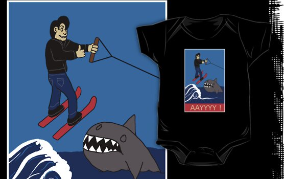 Jumping the Shark by Octochimp Designs