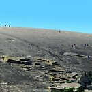 Climbing Enchanted Rock by Shiva77