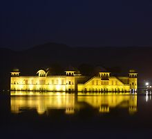Jal Mahal - II by redscorpion