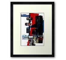 I'm So Bored With The USA Framed Print