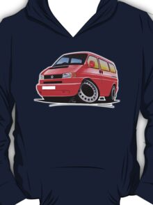 VW T4 Red T-Shirt