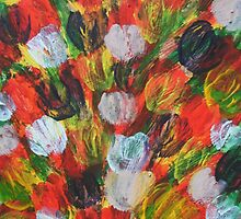 Explosion of Tulips by George Hunter