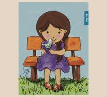Girl with Bird / Iris Gat by IrisGat