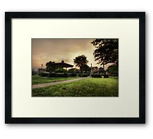 Somewhere in Middle America Framed Print