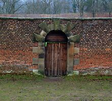 Gibside Door by Chris Vincent
