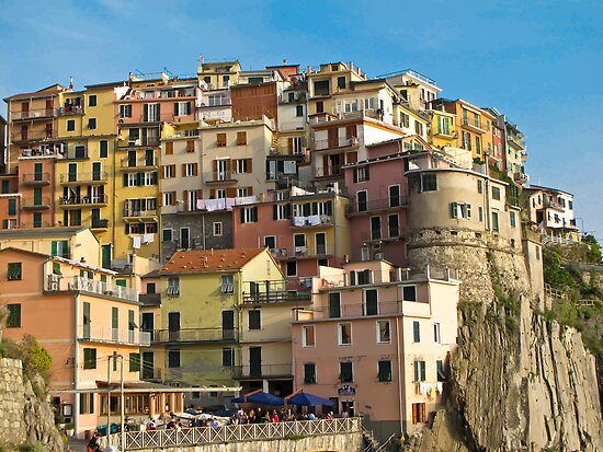 manarola by Anne Scantlebury