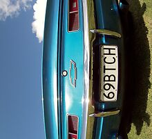 69BTCH Chevrolet Classic Car Case  by Vicktorya Stone