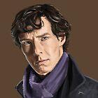 Sherlock Holmes by Yair Mor