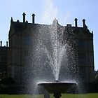 Fountain at Montacute House by lezvee