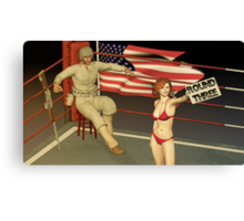Ready To Rumble Canvas Print