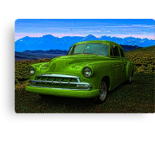 "1951 Chevrolet ""Slime Green"" Canvas Print"