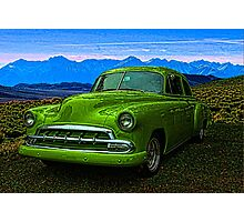 "1951 Chevrolet ""Slime Green"" Photographic Print"