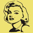 Marilyn Monroe by Melissa Ellen