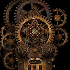 Infernal Steampunk Machine #2B iPhone / iPod case by Steve Crompton