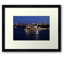 Opera House Framed Print