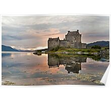 Eilean Donan Castle, Sunset Poster
