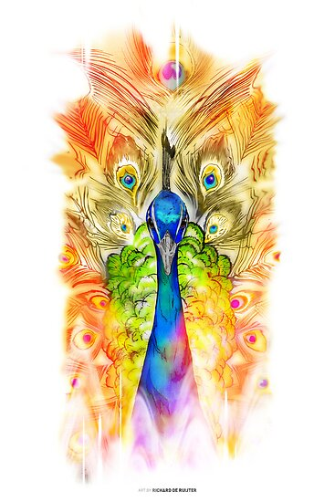 Peacock by Richard de Ruijter