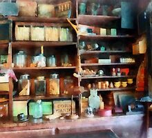 Behind the Counter at the General Store by Susan Savad