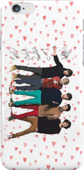 One Direction Art with autographs by kmercury
