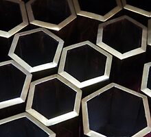 Grouped Hexagons by phil decocco