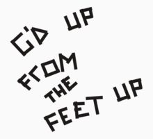 Arctic Monkeys - G'd Up From The Feet Up by Ollie Vanes