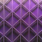 Purple pattern IPhone & IPod case by Magdalena Warmuz-Dent