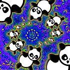 Panda Twirl by kiliam