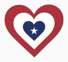 America Heart by Maria Bell