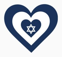 Israel Heart by Maria Bell