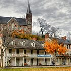 Fall at Harpers Ferry by Monte Morton