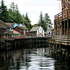 Creek Street, Ketchikan by ZWC Photography