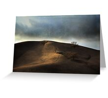 The Earth Moved When You Loved Me Greeting Card