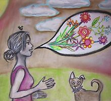 She would talk about her garden to anyone who would listen...  by Thea T