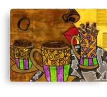 I'll Take Three Cups of Java Please Canvas Print
