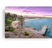 Horse Shoe Bay Sunet Canvas Print