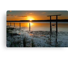 Lake Clarendon 2 - Lockyer Valley Qld Australia Canvas Print