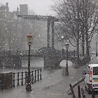 Very cold easter in the Dam by Jamie Shirlaw